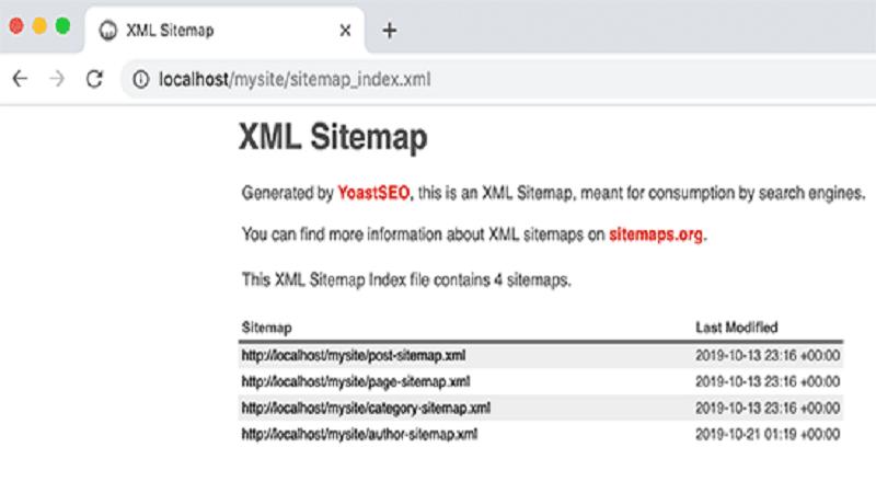 ایجاد سایت مپ به وسیله افزونه Yoast