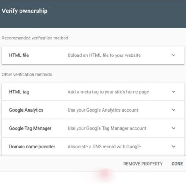ثبت سایت در سرچ کنسول با روش URL Prefix