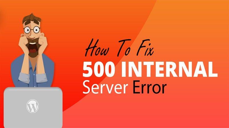 طریقه رفع خطای 500 در وردپرس