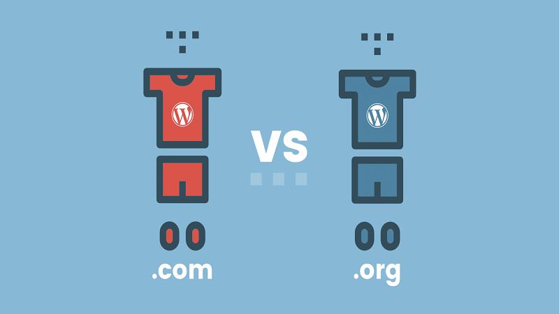 معرفی تفاوت سایت worpress.com و wordpress.org